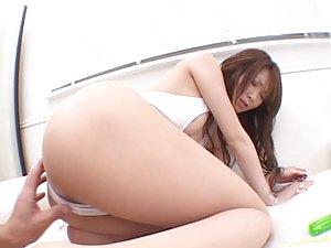 Superb Asian MILF Rika Sakurai Gets Fucked and Facialized